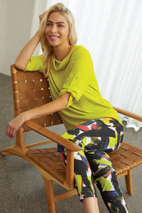 Joseph Ribkoff | Brushstroke Pant *Buy More, Save More*