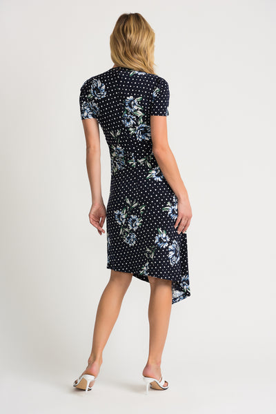 Joseph Ribkoff | Floral & Dot Dress
