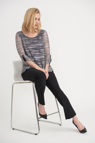Joseph Ribkoff | Loose Knit Tunic **50% OFF original price applied at checkout**