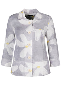 Dolcezza | Soft White Flowers Jacket - NEW ARRIVAL