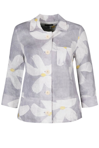 Dolcezza | Soft White Flowers Jacket *Summer Sale*