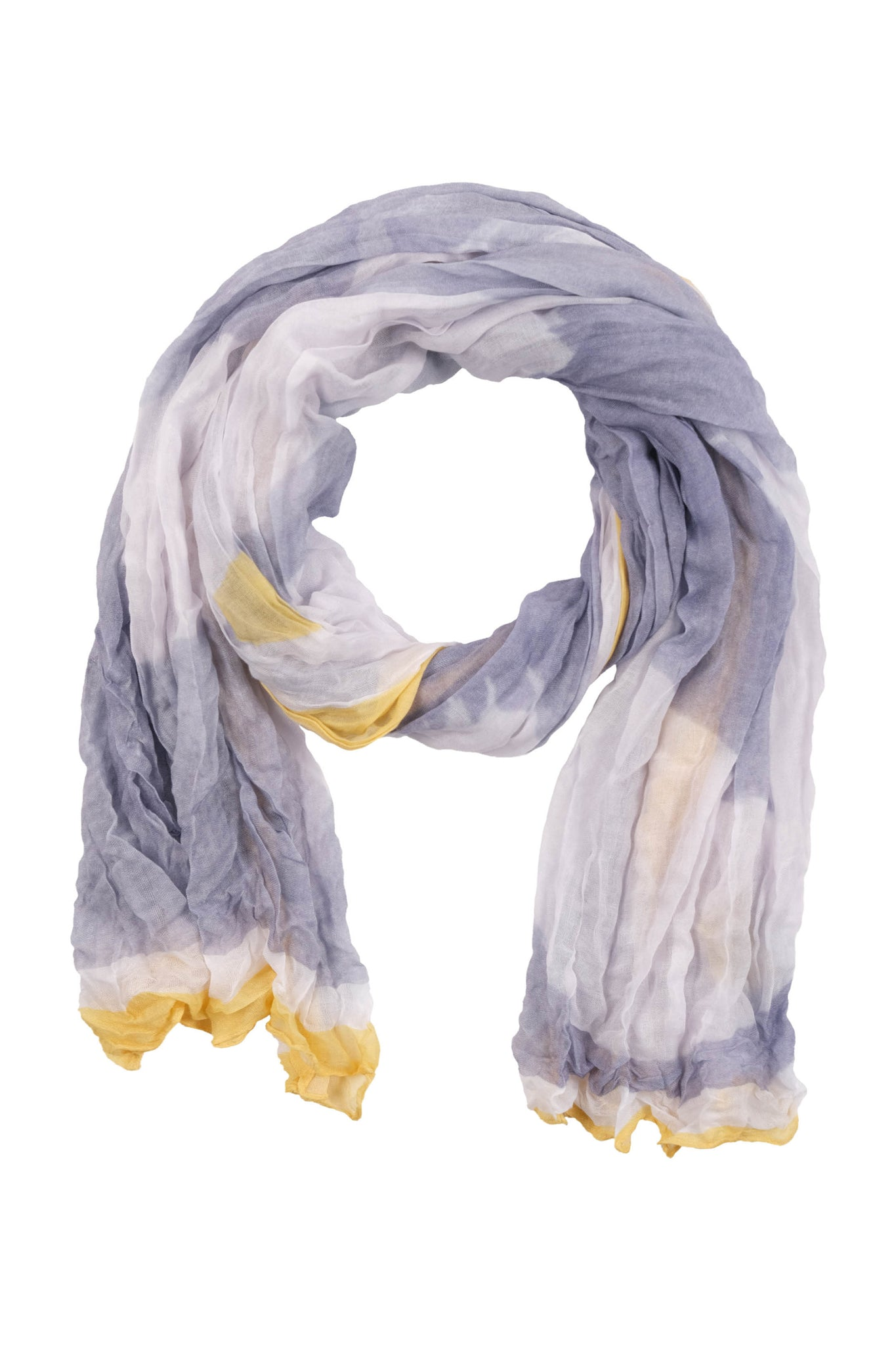 Soft White Flowers Scarf