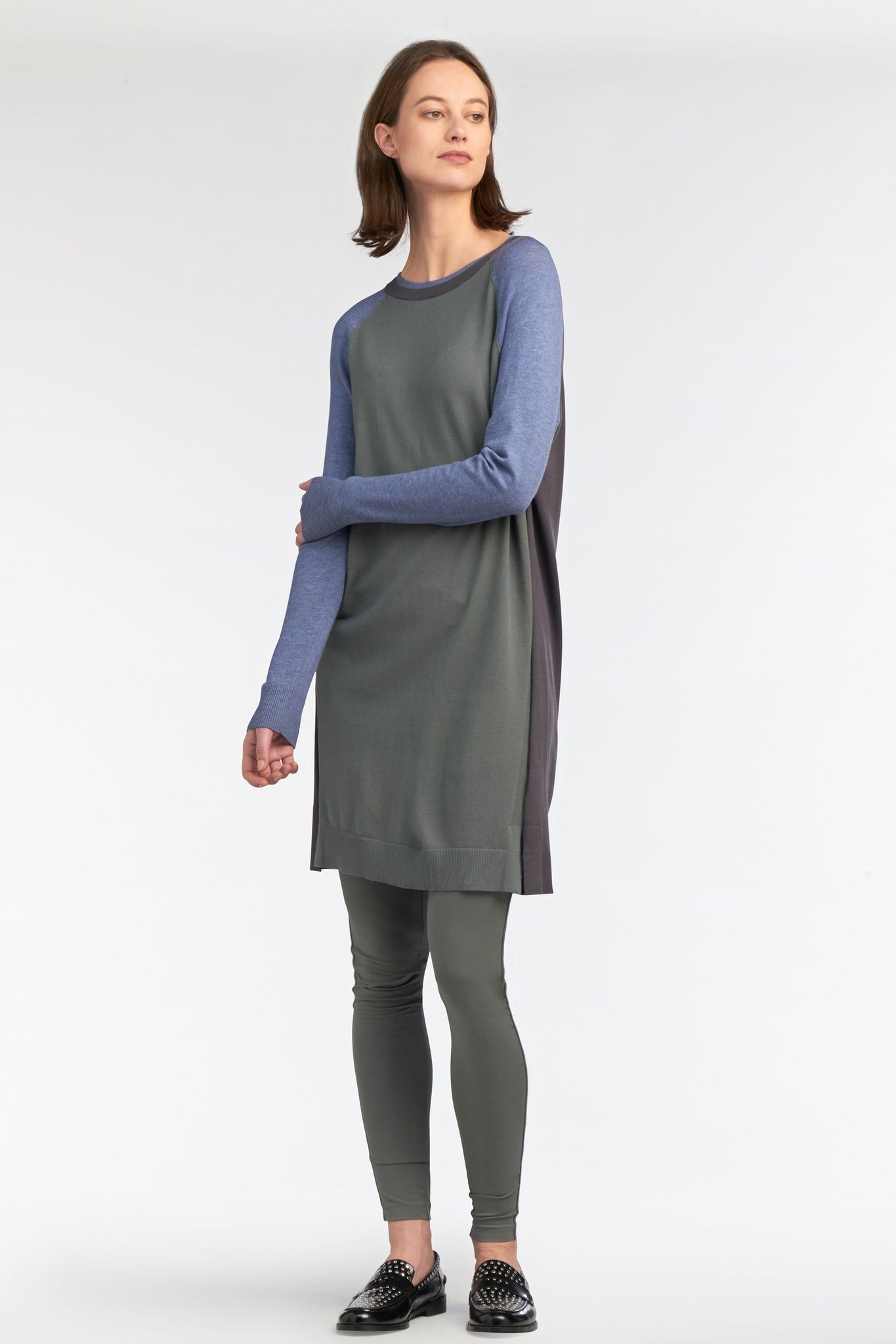 Sandwich | Knit Colourblock Dress