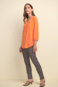 Joseph Ribkoff | Multi-Coloured Gingham Pant - NEW ARRIVAL