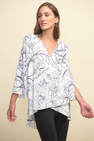 Joseph Ribkoff | Layered Front Blouse - NEW ARRIVAL