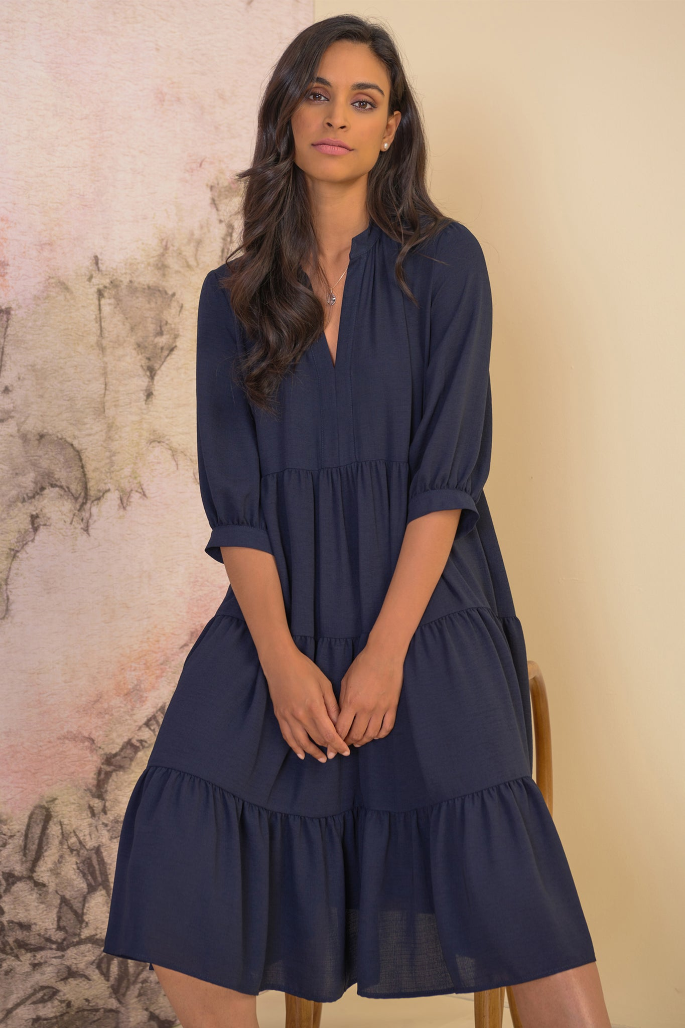 Tiered Dress - NEW ARRIVAL