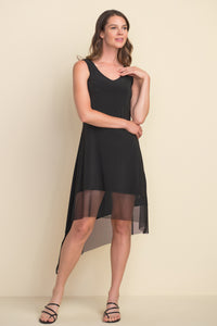 Dress with Mesh Hem - NEW ARRIVAL