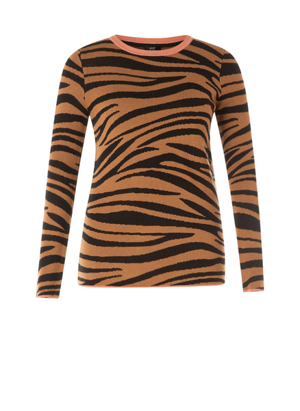 Yest | Zebra Print Top  *ADDITIONAL 25% OFF at checkout*