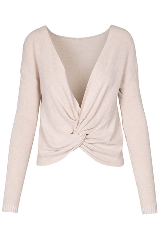M Italy | Twist Front Sweater