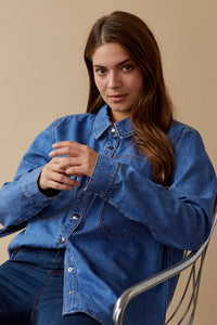 Keisha Denim Shirt - NEW ARRIVAL