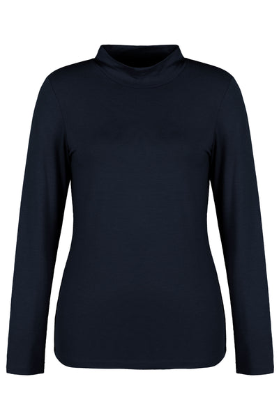 Dolcezza | Basic Mock Neck Top (2 colours available) - NEW ARRIVAL