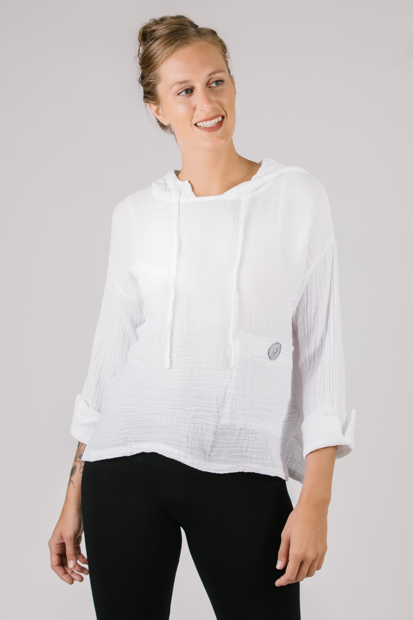 Janet Gauze Top - NEW ARRIVAL