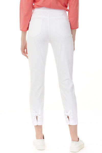 White Jeans with Bows - NEW ARRIVAL