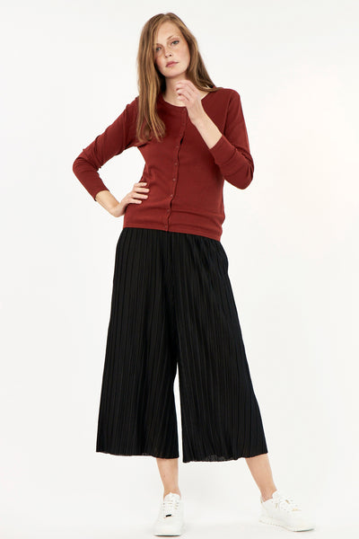 Pleated Crop Pant (2 colours available) - NEW ARRIVAL