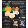 Shaped Munchables Teething Wafers, Sweet Potato & Pumpkin