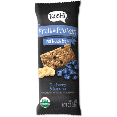 Fruit & Protein Soft Oat Bar, Blueberry & Banana