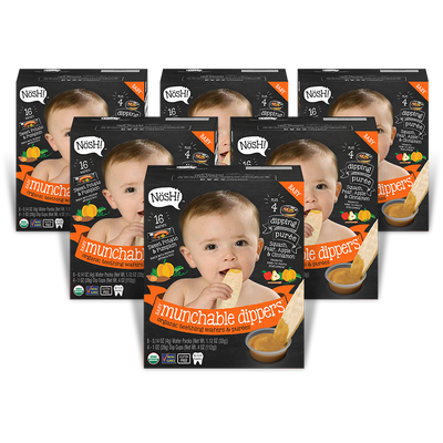 Munchable Dippers, Sweet Potato & Pumpkin (Pack of 6)