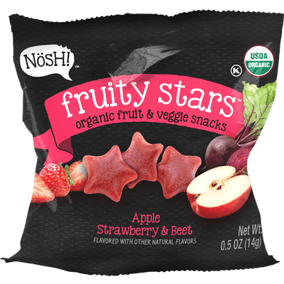 Fruity Stars, Apple, Strawberry & Beet (Pack of 6)