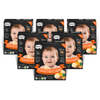 Shaped Munchables Teething Wafers, Sweet Potato & Pumpkin (Pack of 6)