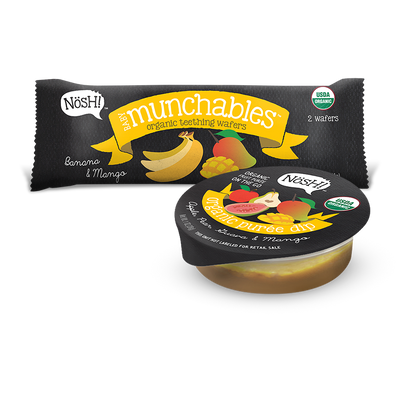 Munchable Dippers, Banana & Mango
