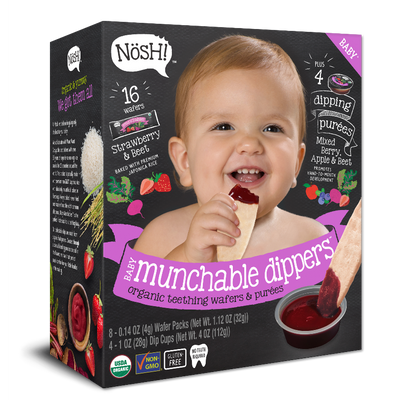 Munchable Dippers, Strawberry & Beet