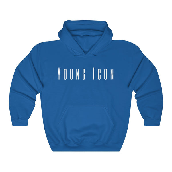 Young Icon - white text - T-Shirts Pullover Unisex Hoodie