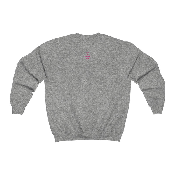 Lone Wolf with red text - T-Shirts Crewneck Sweatshirt