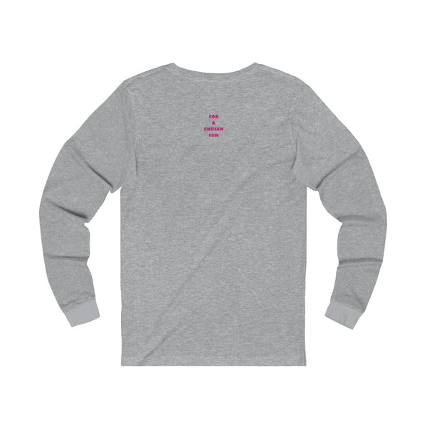 Lone Wolf with red text - Long Sleeve T-Shirt