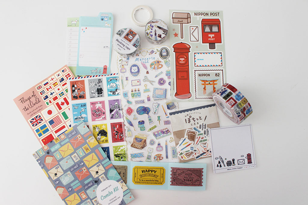 Snail Mail and Sticky Kit February Kit