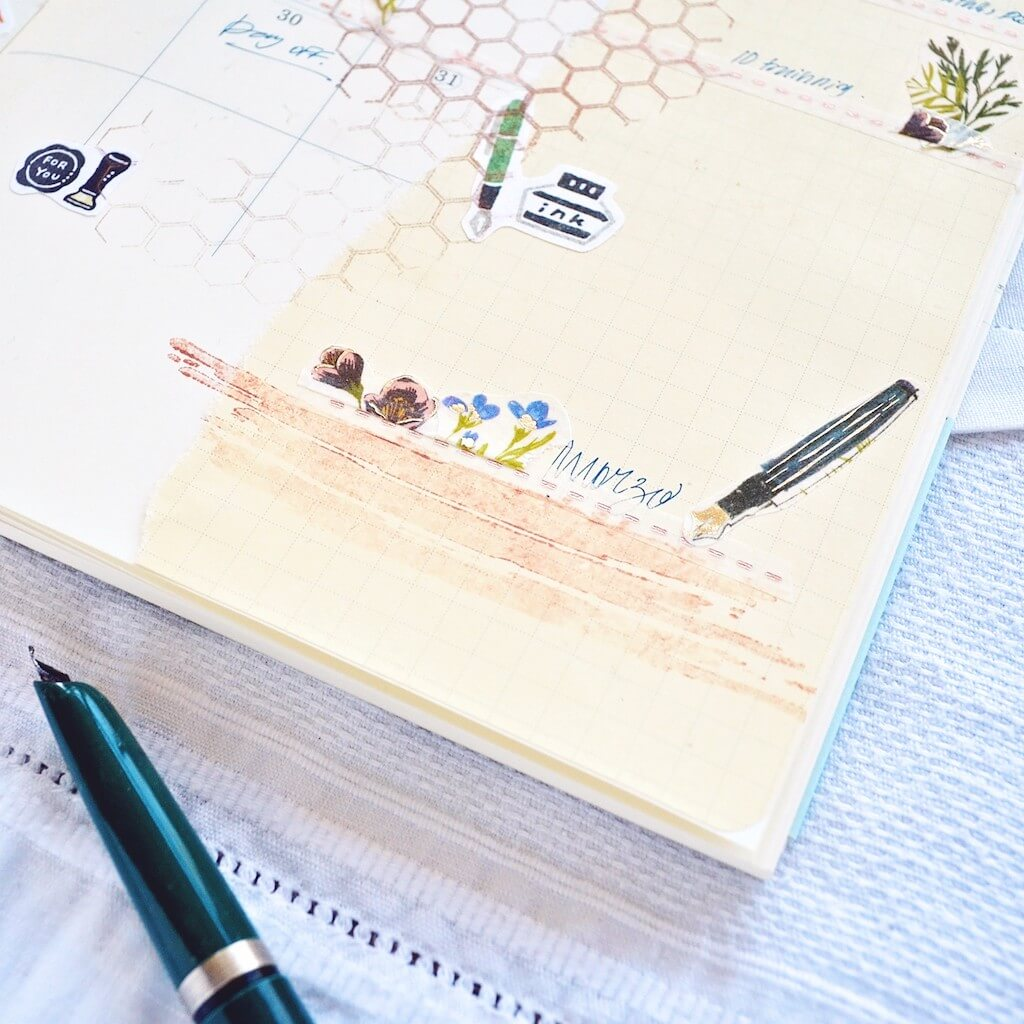 Decorating my planner with Sticky Kit