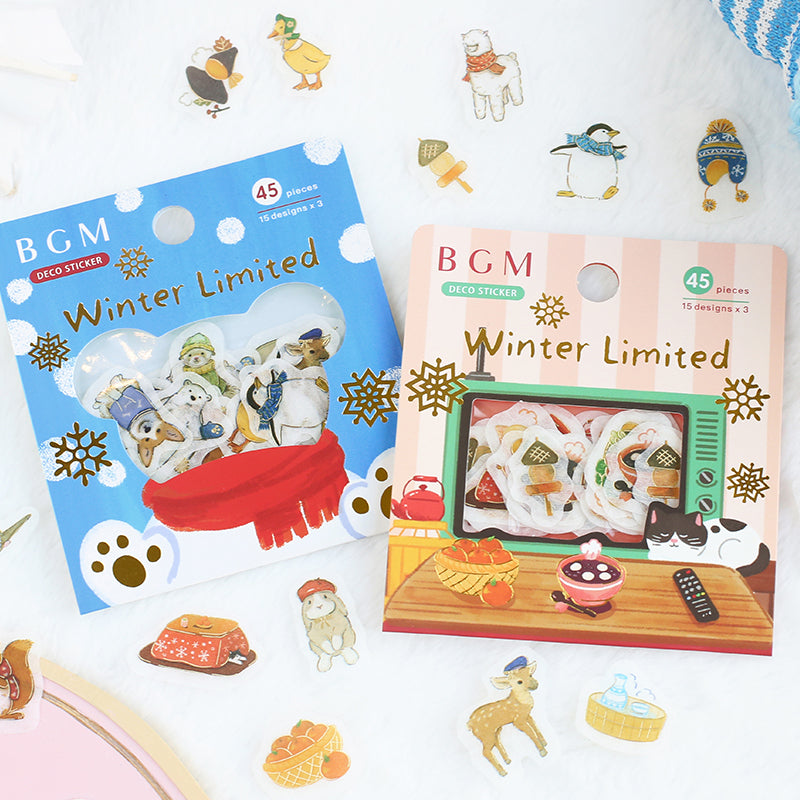 BGM - Winter Limited - Winter Home - Stickers