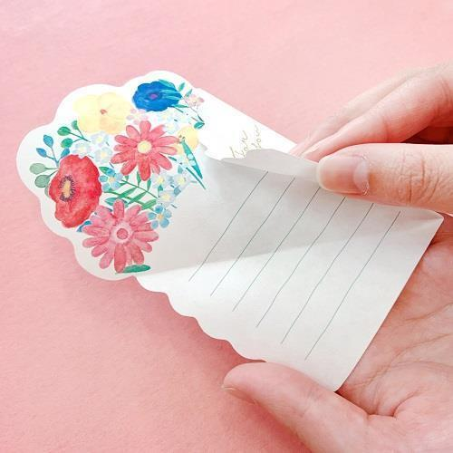 Flowers Letter - Colorful Bouquet