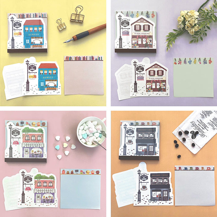 Kotorimachi Memo Pad - Flower Shop