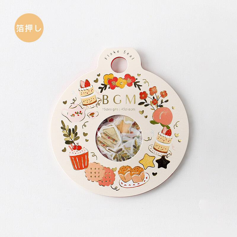 BGM - Dessert - Foiled Washi Sticker Flakes