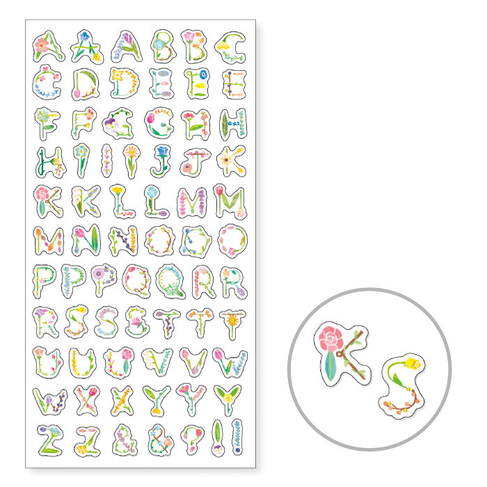 Floret ABC - Letter Stickers