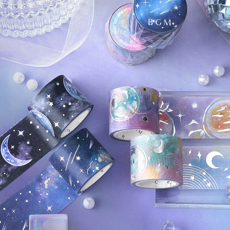 BGM - Glowing Universe - Fantasy Sky - Washi Tape