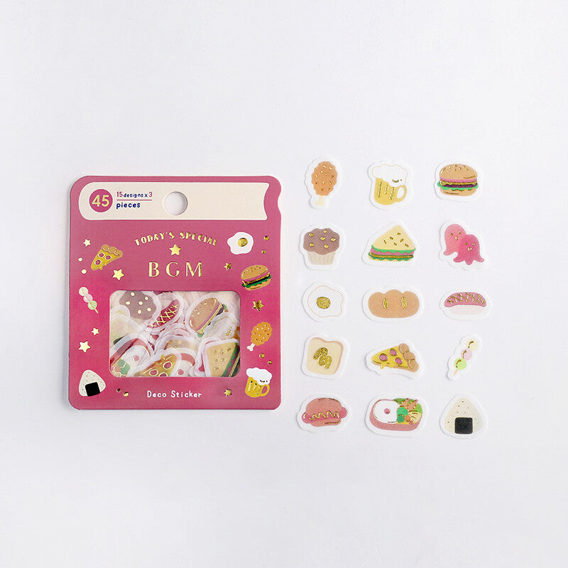 BGM - Little Food (Yummy Mystery Sticker Flakes - May '20)