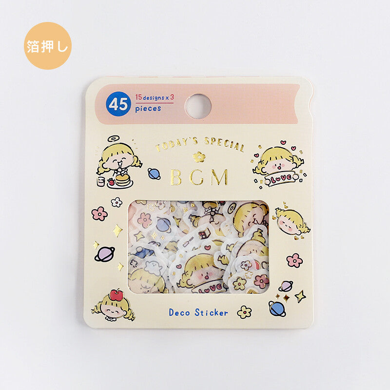 BGM - Little Girl (Adorable Mystery Sticker Flakes - May '20)