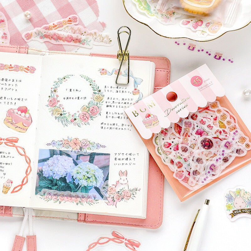 BGM - Decoration Series - Stationery - Stickers