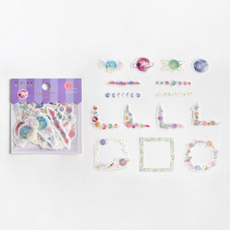 BGM - Decoration Series - Planets - Stickers