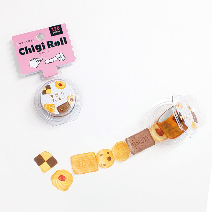 Mind Wave - Chigi Roll - Chigiri Cookie - Perforated Washi Tape