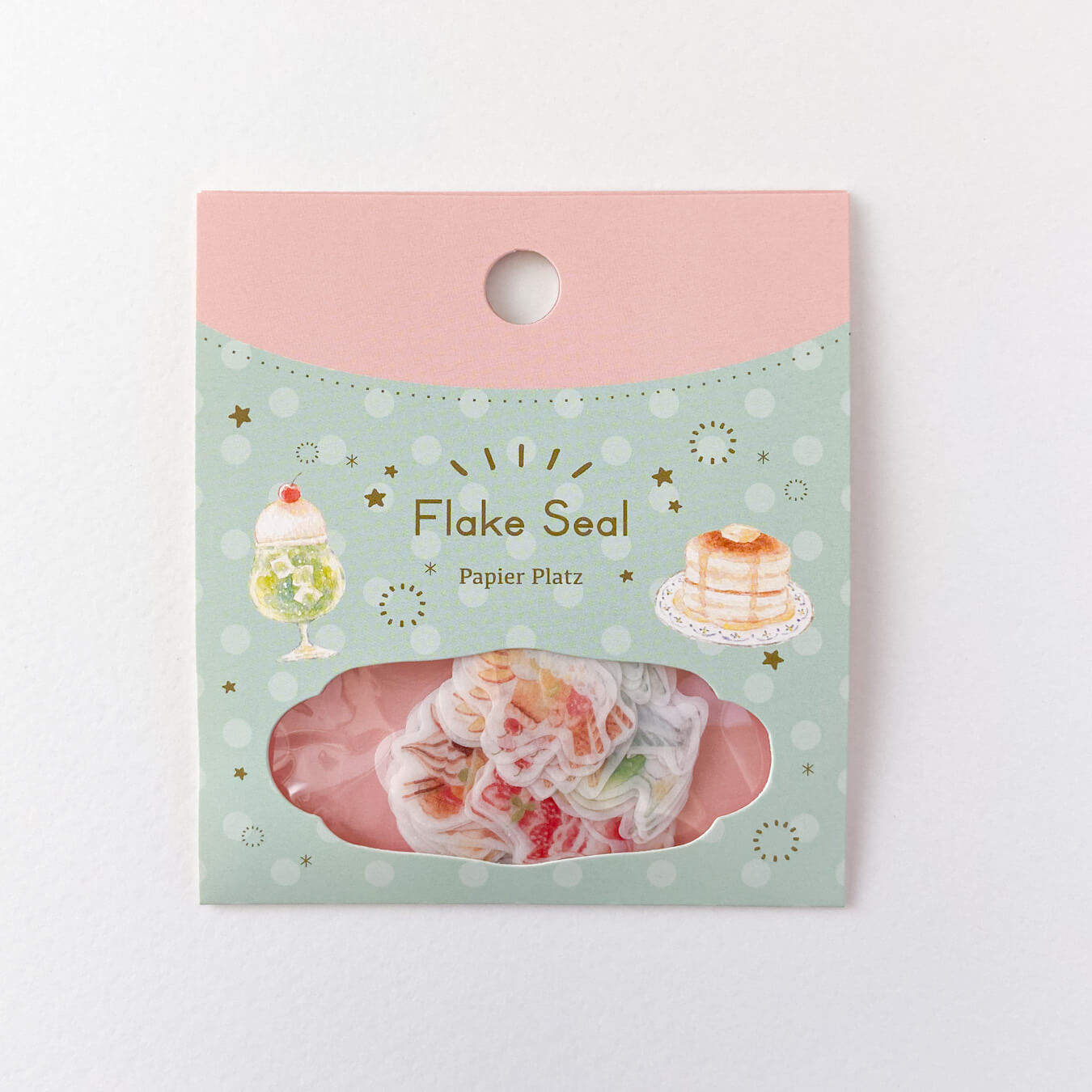 Cafe Sweets - Waka Nakauchi - Sticker Flakes