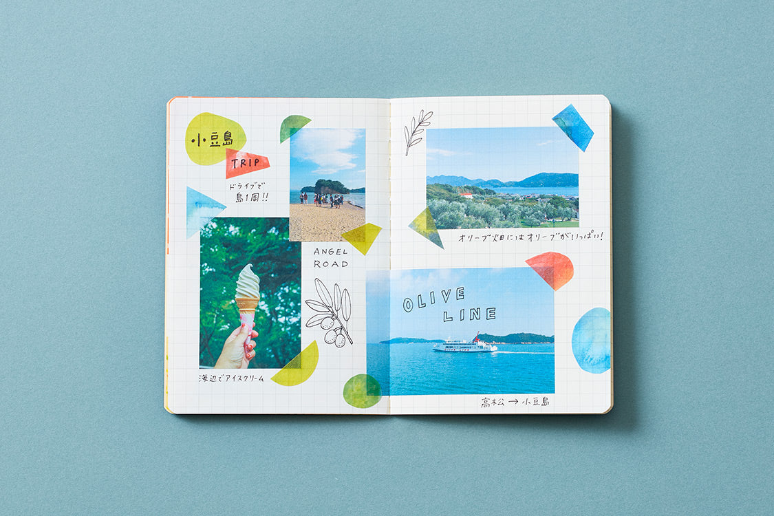 KingJim - Masking Tape Book (Postcard Size) - Patterns