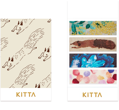 KITTA - Embroidery - Washi Tape Stickers