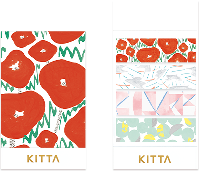 KITTA - Scene - Washi Tape Stickers