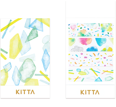 KITTA Clear - Light - Clear Tape Stickers