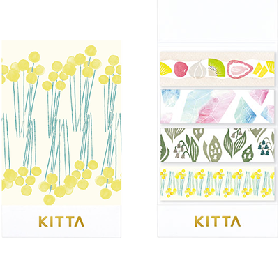 KITTA × moogy - Humming - Washi Tape Stickers