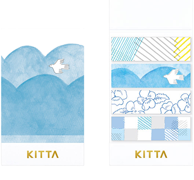 KITTA × moogy - Breeze - Washi Tape Stickers