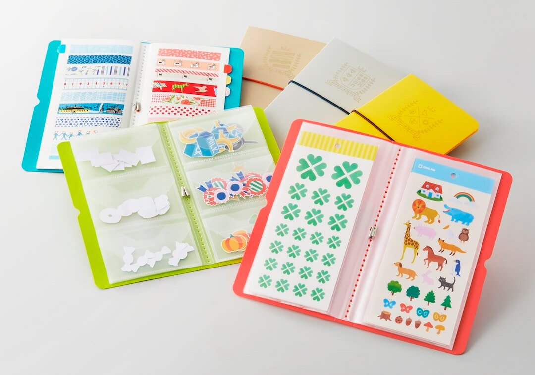 Sticker Sheets Storage Folder