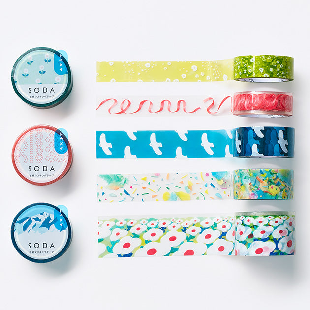 SODA Clear Masking Tape - Around